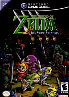 Cover The Legend of Zelda: Four Swords Adventures