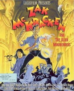 Cover Zak McKracken and the Alien Mindbenders