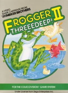 Cover Frogger II: ThreeeDeep!
