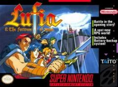 Cover Lufia & the Fortress of Doom