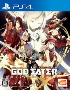 Cover God Eater – Resurrection