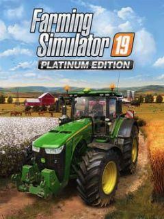 Cover Farming Simulator 19: Platinum Edition