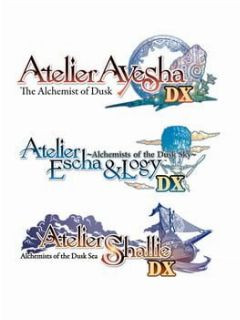 Cover Atelier Dusk Trilogy Deluxe Pack