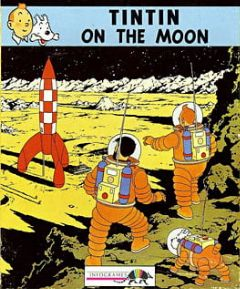 Cover Tintin on the Moon