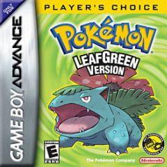 Cover Pokémon LeafGreen