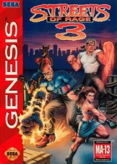 Cover Streets of Rage 3