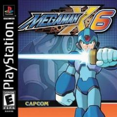 Cover Mega Man X6