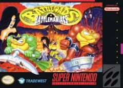 Cover Battletoads In Battlemaniacs