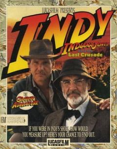 Cover Indiana Jones and the Last Crusade: The Graphic Adventure