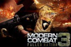 Cover Modern Combat 3: Fallen Nation