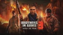 Cover Brothers in Arms 3: Sons of War