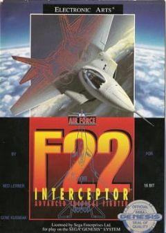 Cover F-22 Interceptor
