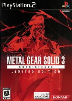 Cover Metal Gear Solid 3: Subsistence – Limited Edition
