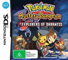 Cover Pokémon Mystery Dungeon: Explorers of Darkness