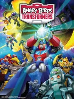 Cover Angry Birds Transformers