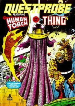 Cover Questprobe featuring Human Torch and the Thing
