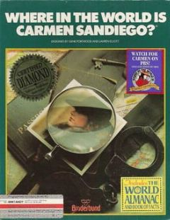 Cover Where in the World Is Carmen Sandiego?