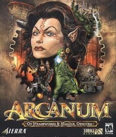 Cover Arcanum: Of Steamworks and Magick Obscura