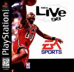 Cover NBA Live 98