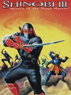 Cover Shinobi III: Return of the Ninja Master
