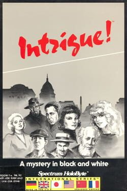 Cover Intrigue!