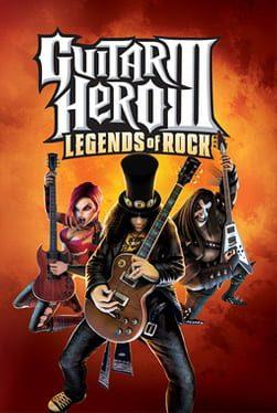 Cover Guitar Hero III: Legends of Rock