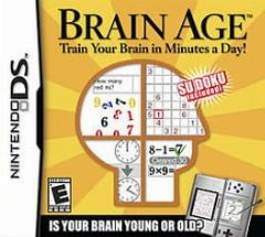 Cover Brain Age: Train Your Brain in Minutes a Day!
