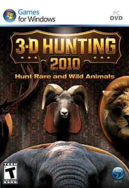 Cover 3-D Hunting 2010
