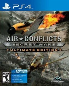 Cover Air Conflicts: Secret Wars Ultimate Edition