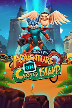 Cover Skylar & Plux: Adventure on Clover Island