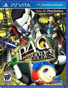 Cover Persona 4 Golden