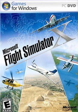 Cover Microsoft Flight Simulator X