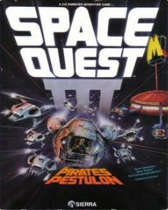 Cover Space Quest III: The Pirates Of Pestulon