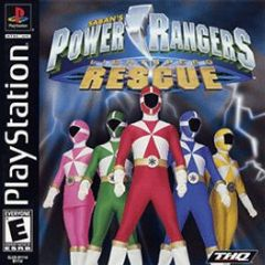 Cover Power Rangers: Lightspeed Rescue