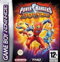 Cover Power Rangers Ninja Storm