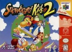 Cover Snowboard Kids 2