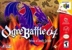 Cover Ogre Battle 64: Person of Lordly Caliber