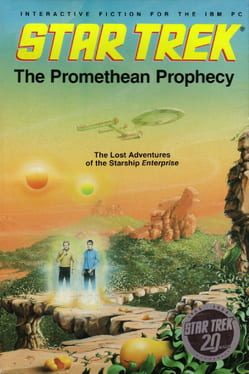 Cover Star Trek: The Promethean Prophecy
