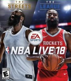 Cover NBA Live 18