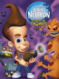 Cover The Adventures of Jimmy Neutron Boy Genius: Attack of the Twonkies