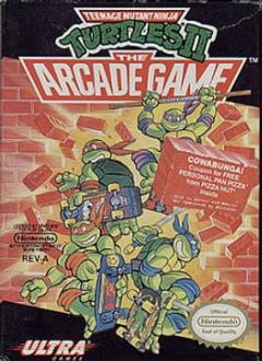 Cover Teenage Mutant Ninja Turtles: The Arcade Game