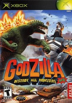 Cover Godzilla: Destroy All Monsters Melee