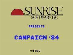Cover Campaign '84