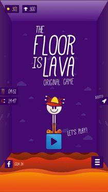 Cover The Floor is LAVA – Original Game