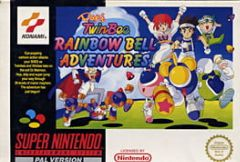 Cover Pop'n Twinbee – Rainbow Bell Adventures