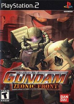 Cover Mobile Suit Gundam: Zeonic Front