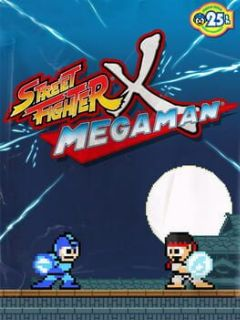 Cover Street Fighter X Mega Man