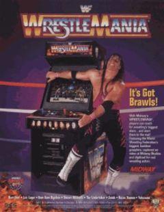 Cover WWF WrestleMania: The Arcade Game