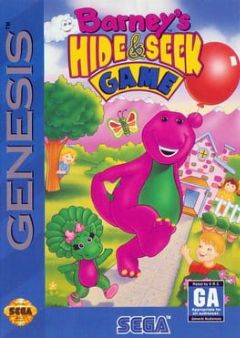 Cover Barney's Hide & Seek Game