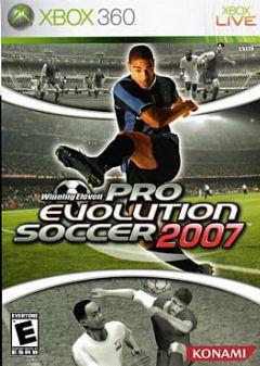 Cover Pro Evolution Soccer 2007